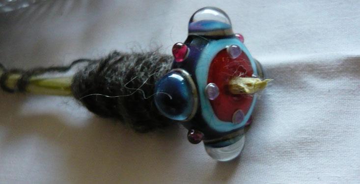 Glasspindel